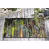 Yeşil Taşlar Tasarım Kapı Önü ve Ev İçi Paspas 45x75 cm