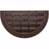 Elegance Kapı Önü Paspas Yarımay Halısız 40x70 cm Bronz