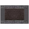 Pebbles Kapı Önü Paspas Halılı 45x70 cm Gümüş