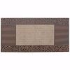 Pebbles Kapı Önü Paspas Halılı 40x80 cm Bronz