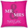 Mr & Mrs Tasarım Kırlent Yastık 40x40 cm