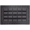 Elegance Kapı Önü Paspas 45x70 cm Gümüş
