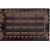 Elegance Kapı Önü Paspas Halısız 45x70 cm Bronz