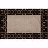 Polaris Kapı Önü Paspas Halılı 45x70 cm Bronz