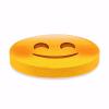Gülücük Emoji Tasarım Daire Minder Ø40