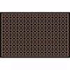 Stamp Kapı Önü Paspas Halısız 45x70 cm Bronz