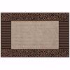 Pebbles Kapı Önü Paspas Halılı 45x70 cm Bronz